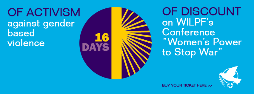 Check out the special discount we're offering for Conference Registrations to celebrate the 16-Days Campaign!